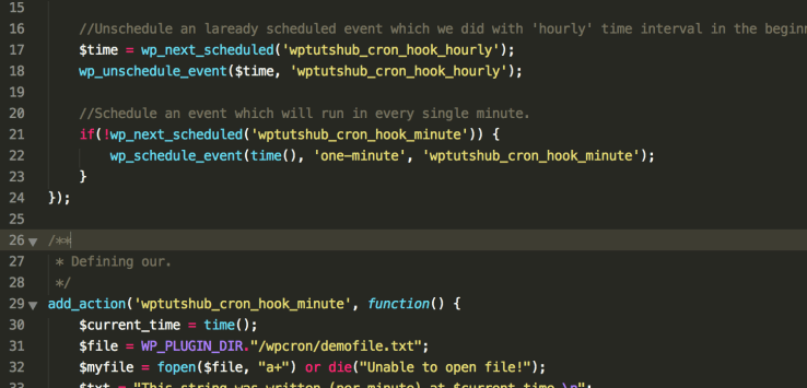 Using Cron Job in WordPress - - Schedule Events With WP-Cron