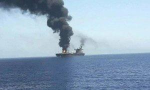 Kryzys naMorzu Arabskim? USA eskortuje tankowiec zaatakowany przezdrony