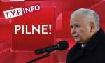 """TVP Info przerywa konferencję Niedzielskiego. Pojawia się """"PILNE!"""" i Kaczyński na mszy"""