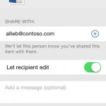 OneDrive for Business for iPhone 4