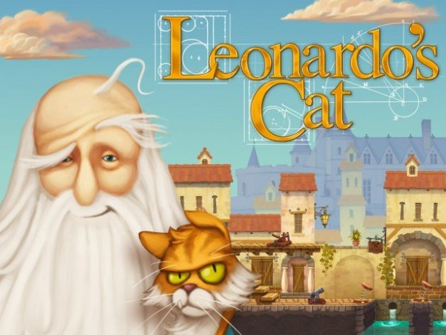 Leonardos Cat will bring family fun in an invention puzzler