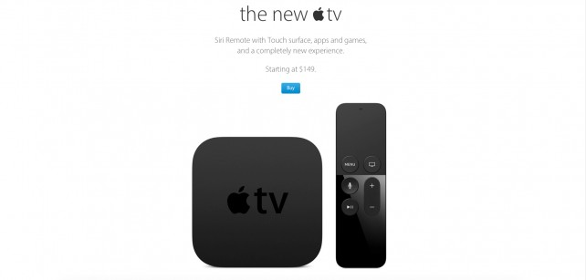 The new Apple TV will reportedly arrive at Apple Stores on Friday