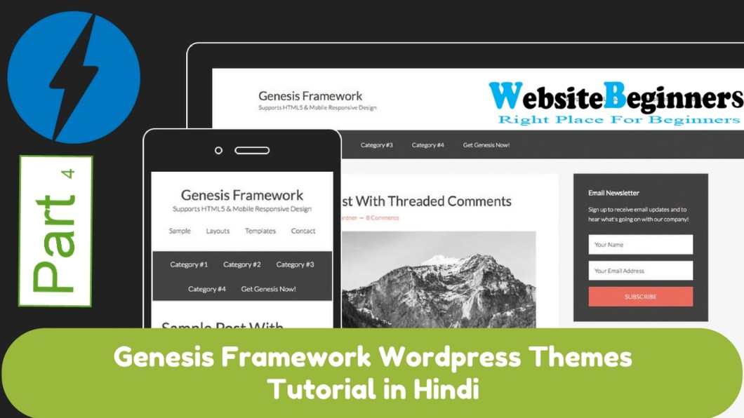 How To Set Up WordPress Child Dependent Themes – Setting up genesis ...