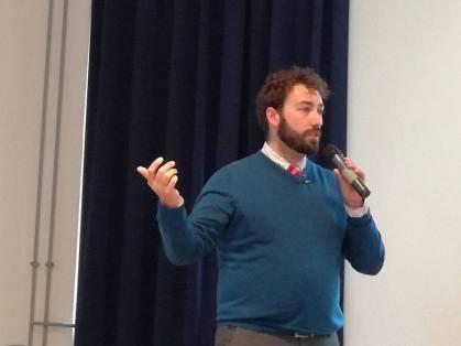 Luca Sartoni, Keynote Speaker, at #wcvie 2017