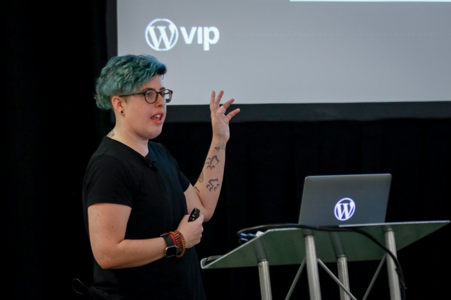 Gutenberg design lead Tammie Lister