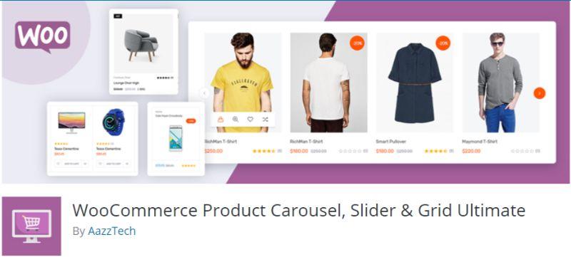 WooCommerce Product Carousel Slider Grid Ultimate
