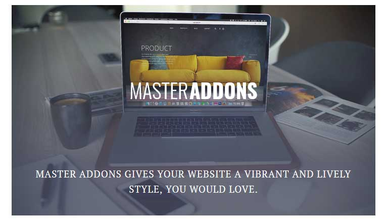 Master Addons image effects