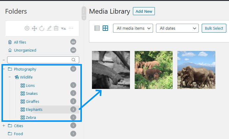 Real Media Library Galleries