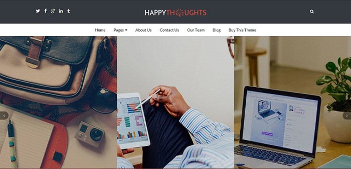 Happy-Thoughts - Layout-options 2
