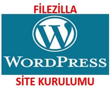 Filezilla ile wordpress site kurulumu