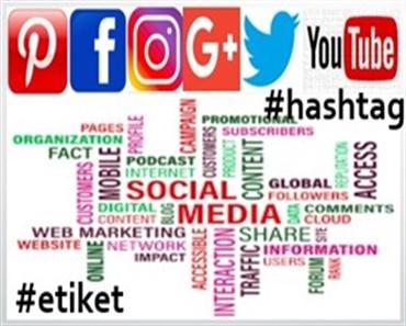 Sosyal medyada etiket kullanımı