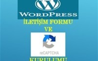Wordpress İletişim Formu Eklemek