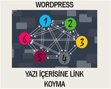 Wordpress yazı içerisine link koyma