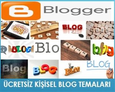 Ücretsiz Blogger Kişisel Blog Temaları