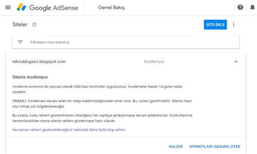 Blogger Google Adsense Reklam Yayınlama