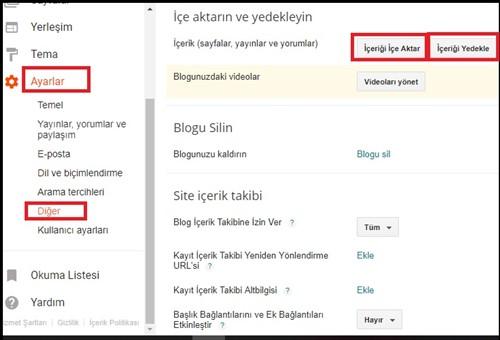 Blogger site yedek alma ve Blogger yedek yükleme işlemini yapmayı öğrenmek için doğru adrestesiniz. Blogger Blogspot tam yedek alma ve geri yükleme nasıl yapılır resimli olarak anlatıyorum.