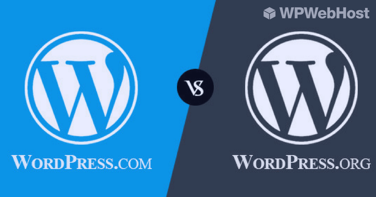 WordPress.com vs WordPress.org – What's the Difference?