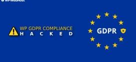 WP GDPR Compliance Plugin Hacked