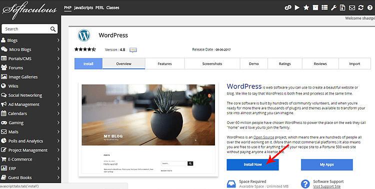 WordPress_Instalation_Erea