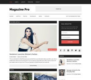 Create Stunning Magazine with Genesis WordPress Magazine Pro Theme Review 2018