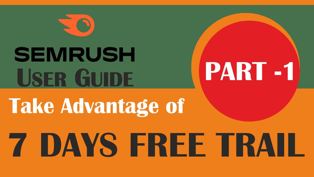 WordPress SEO Made Simple: Semrush Free Trial for 7 days