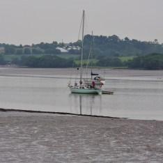 Waccabone at anchor