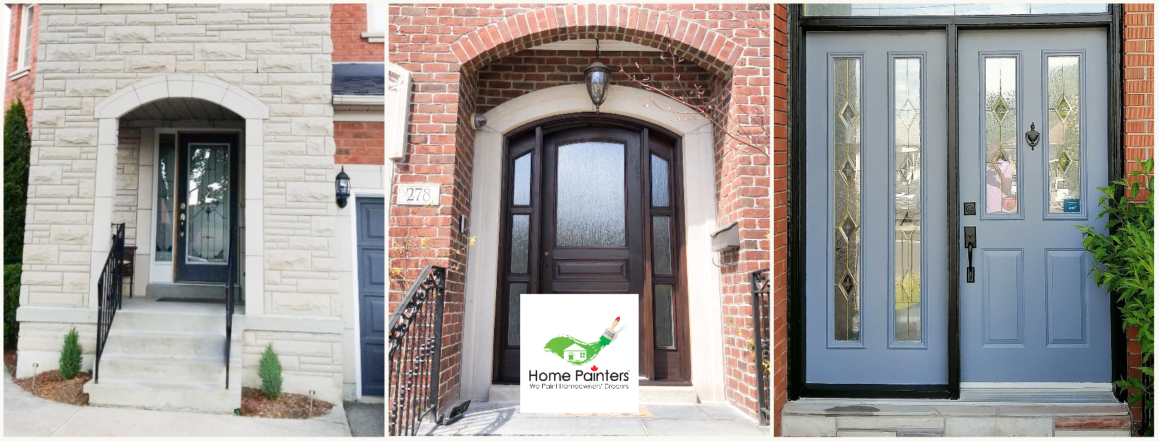 How To Paint A Front Door Without Removing It Home Painters Toronto