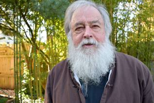 Port Townsend's Bill Porter, who translates Chinese poetry under the name Red Pine, is the 2018 recipient of the Thornton Wilder Prize for Translation by the American Academy of Arts and Letters. He heads to New York to pick up his prize next month. (Jeannie McMacken/Peninsula Daily News)