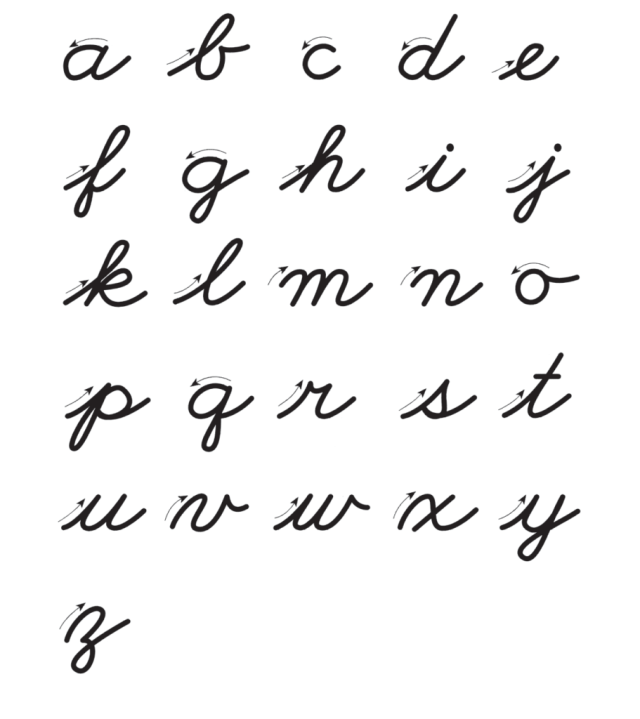 How to Write in Cursive: Basic Guidelines With Examples
