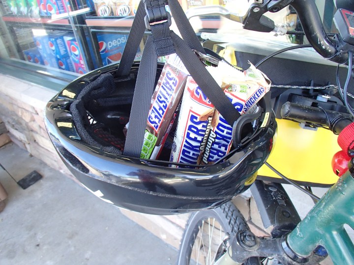 Keeping up the energy levels els with the odd Snickers!!