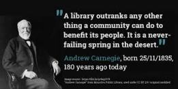 library-quote