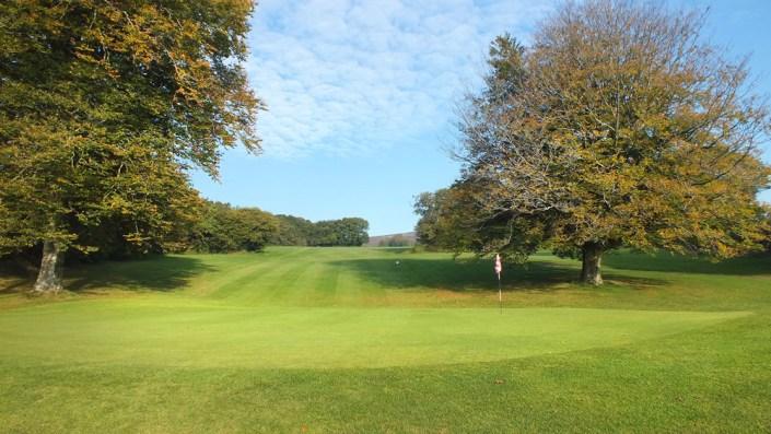 Wrangaton Golf Course - 11th green