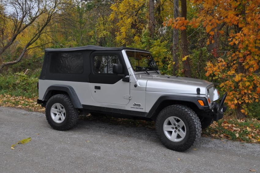 Wrangler Tj Half Jeep Top Hard