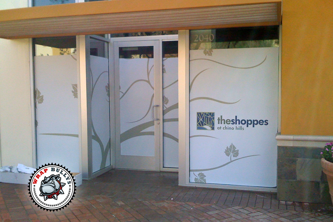 Custom window wrap and graphics. Serving Los Angeles and Orange County. Give us a call today.