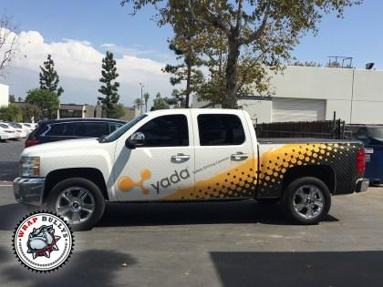 yada Chevy Truck Wrap