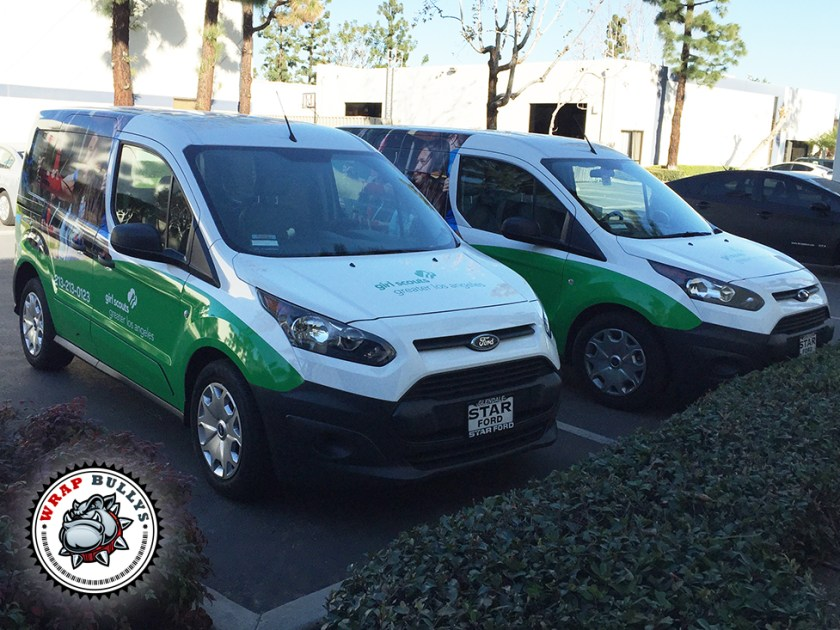Girl Scout Ford Transit Connect Van Wrap
