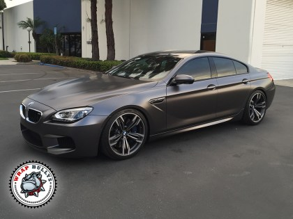 BMW Wrapped in 3M Satin Gray
