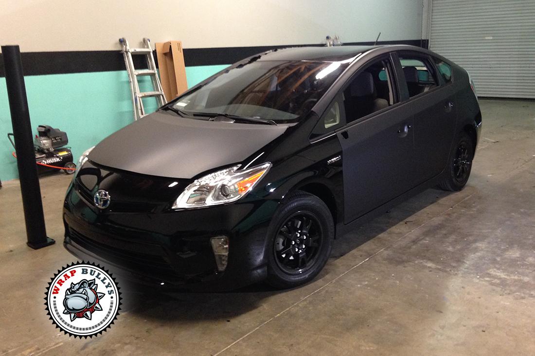 Custom Matte Wrap on 2014 Toyota Prius