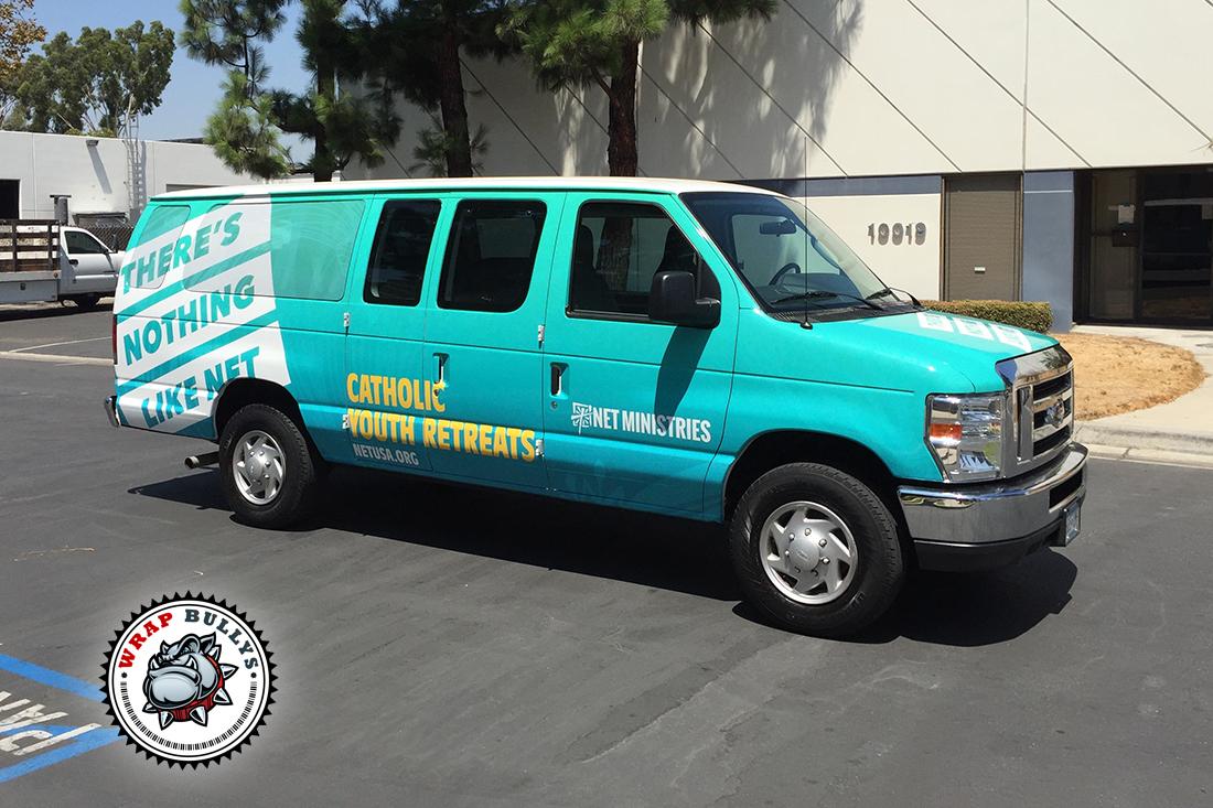 Ford Transit Rv >> Ford E250 Cargo Van Wrap | Wrap Bullys