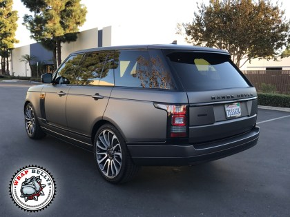 Range Rover Wrapped in 3M Matte Gray
