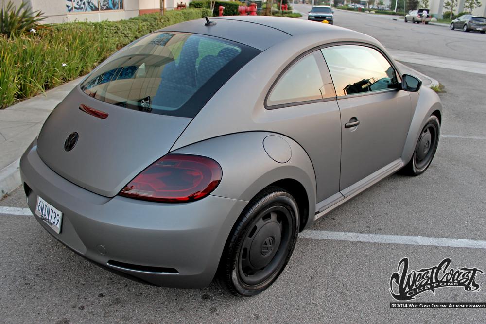 beetle gunmetal matte metallic wrap wrapfolio
