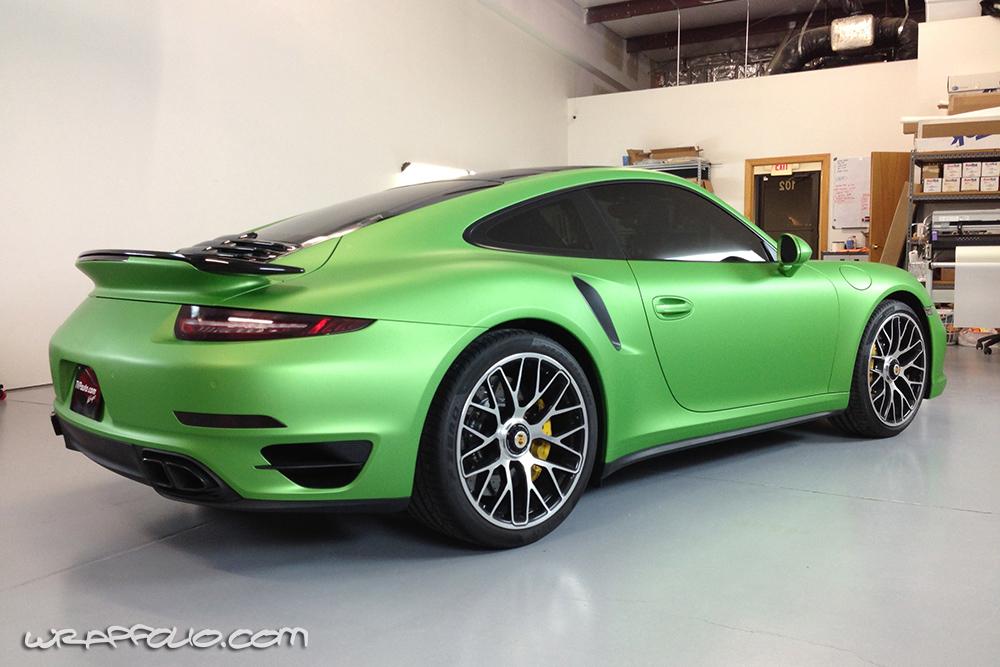 the hulk 911 turbo s wrap