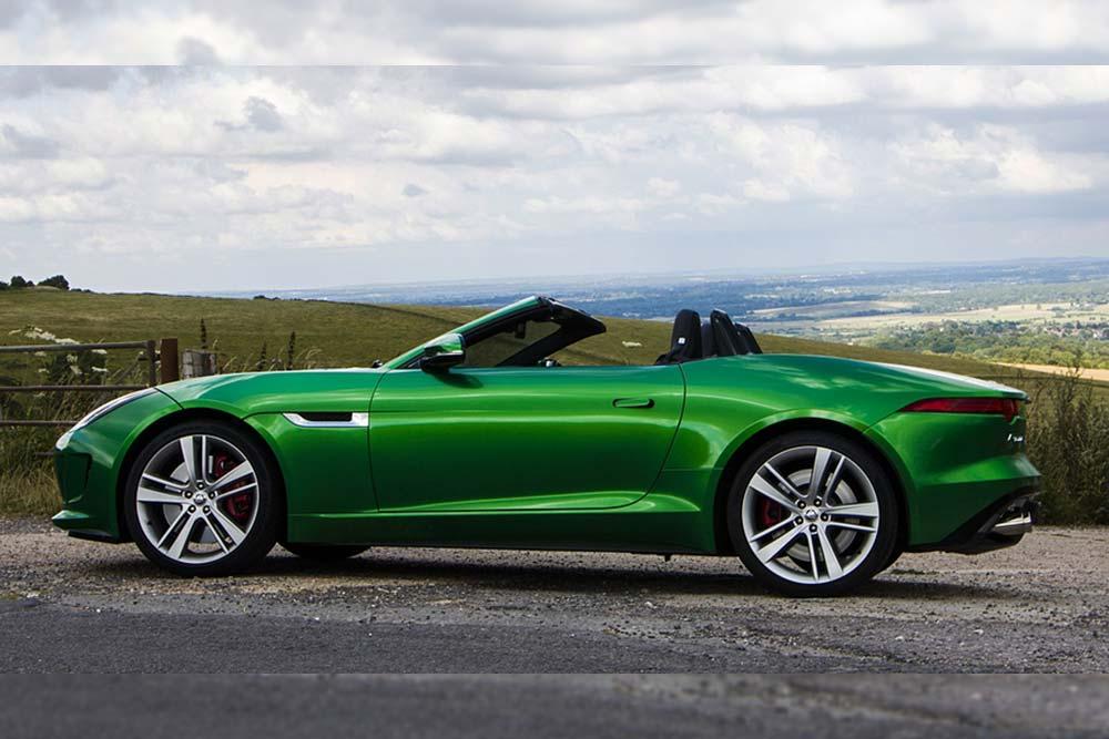 jaguar f type green - photo #36
