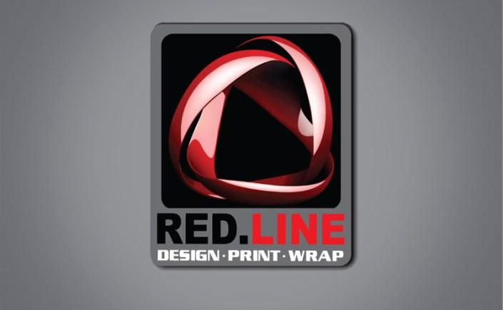 Red Line Print Group Wrapfolio