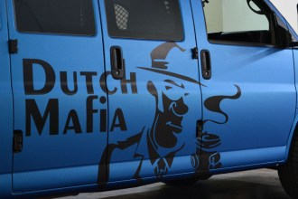 Dutch Bros Van Wrap