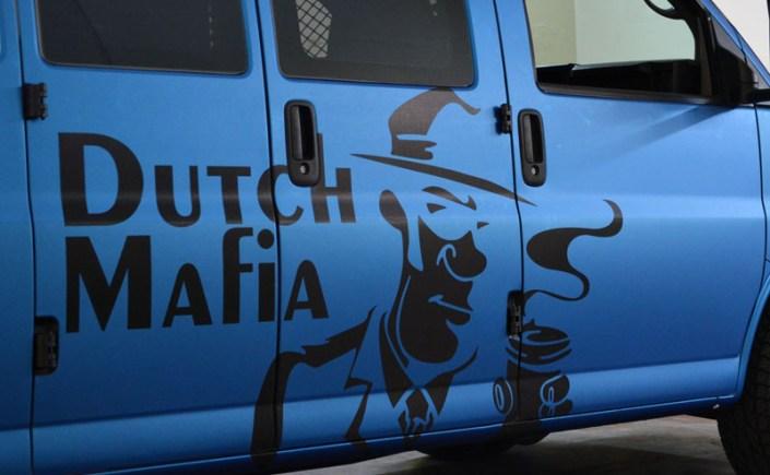 Dutch Bros Van Wrap