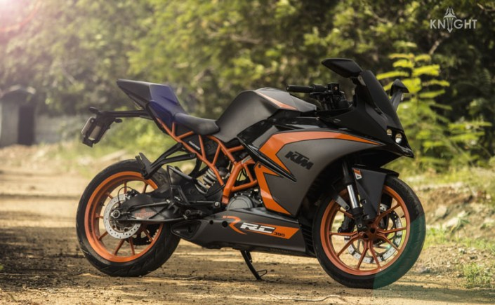 KTM RC 390 Motorcycle Wrap