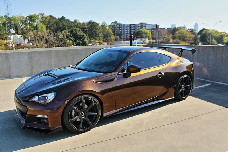 Electric Rust Car Color