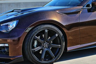 Black and Copper Starlite BRZ Wrap