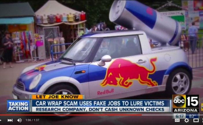 Car Wrap Scam